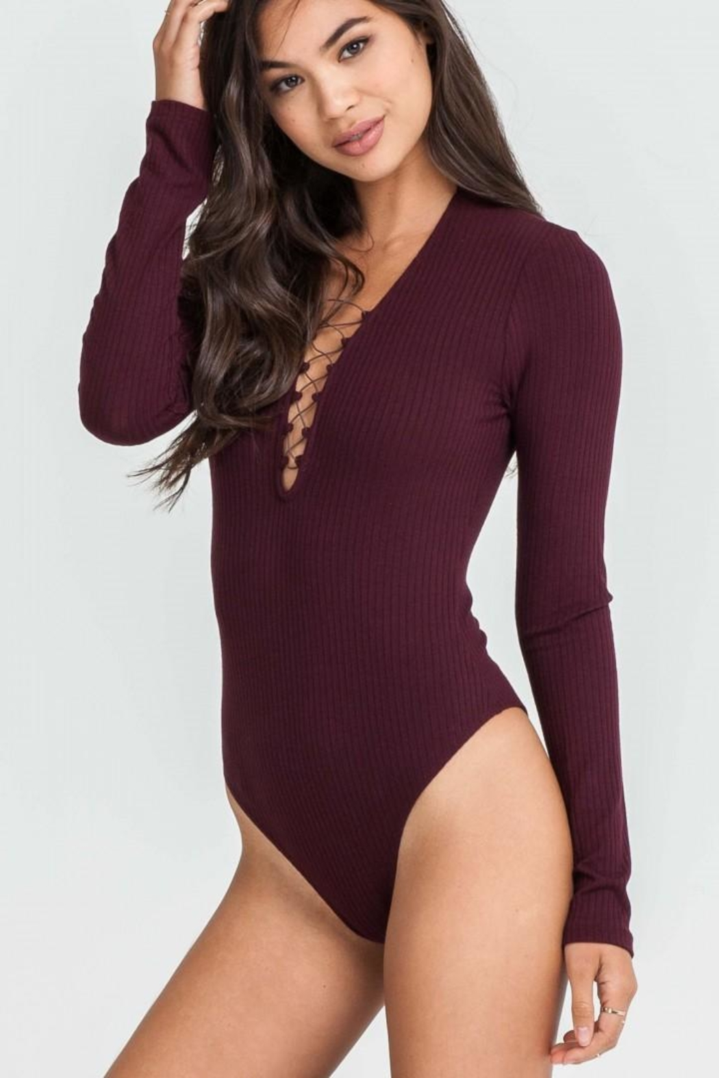 Lush Wine Body Suit - Main Image