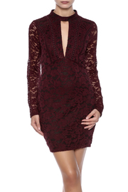 Shoptiques Product: Wine Lace Dress