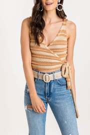 Lush Wrap Sweater Tank - Product Mini Image