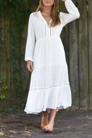 Lush Clothing  Boho-Chic Lace Maxi - Product Mini Image