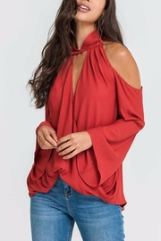 Lush Clothing  Bossa Nova Blouse - Product Mini Image