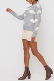 Lush Clothing  Cloud Print Sweater - Back cropped