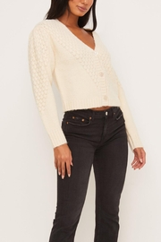 Lush Clothing  Cropped Cardigan Sweater - Side cropped
