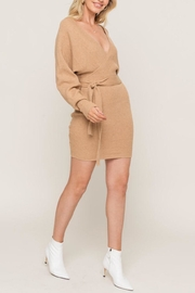 Lush Clothing  Dolman-Sleeve Sweater Dress - Product Mini Image