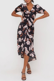 Lush Clothing  Floral Ruched Midi-Dress - Product Mini Image