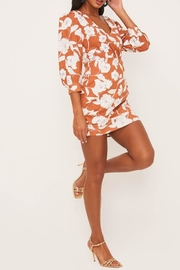 Lush Clothing  Floral Surplice Dress - Back cropped
