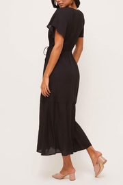 Lush Clothing  Flutter-Sleeve Wrap Maxi-Dress - Side cropped