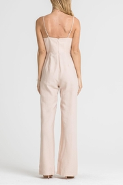 Lush Clothing  Lace-Up Corset Jumpsuit - Side cropped