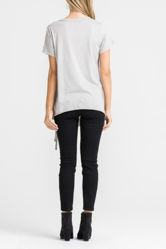Lush Clothing  Lace Up Side Top - Alternate List Image