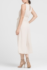 Lush Clothing  Lace-Up Waist Jumpsuit - Side cropped