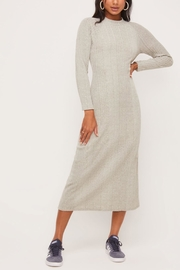 Lush Clothing  Mock-Neck Knit Dress - Side cropped