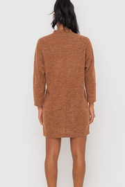 Lush Clothing  Mock-Neck Knit-Dress - Hazel - Other