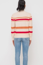 Lush Clothing  Mockneck Multistripe Pullover-Sweater - Other