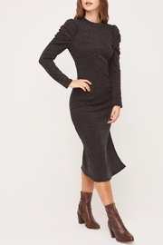 Lush Clothing  Puff-Shoulder Knit Dress - Other