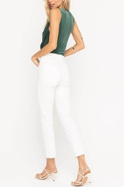 Lush Clothing  Ribbed Velvet Bodysuit - Back cropped