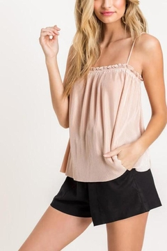 Lush Clothing  Ruffle Cami Top - Product List Image