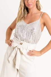 Lush Clothing  Sequin Cami Top - Product Mini Image