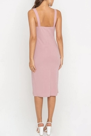 Lush Clothing  Side-Slit Fitted Cocktail-Dress - Side cropped