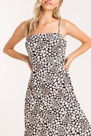 Lush Clothing  Square-Neckline Floral Dress - Back cropped