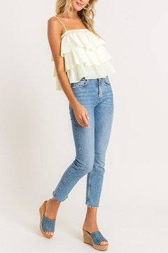 Lush Clothing  Textured Ruffle-Tiered Cami-Top - Product List Image
