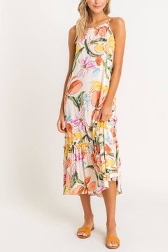 Shoptiques Product: Tiered Printed Midi-Dress
