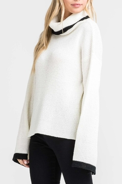 Shoptiques Product: Turtleneck Bell-Sleeve Sweater