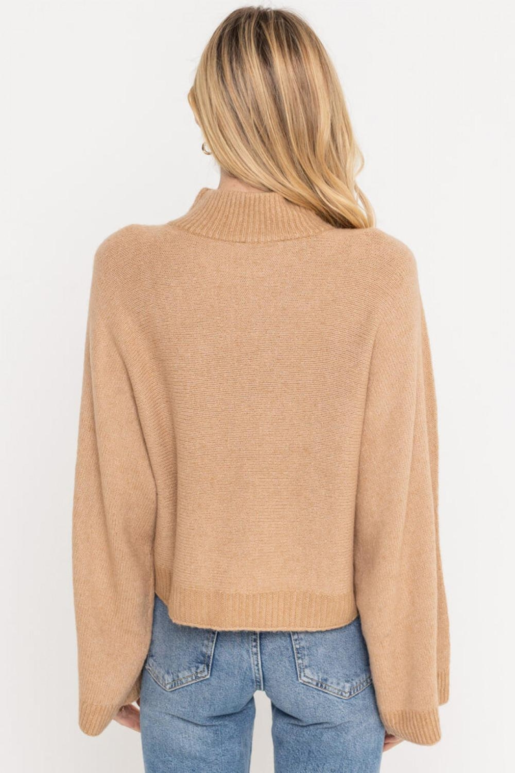 Lush Clothing  Wide Sleeve Sweater - Side Cropped Image