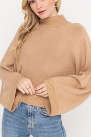 Lush Clothing  Wide Sleeve Sweater - Front cropped