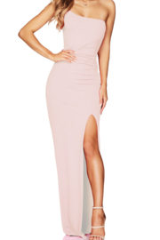 Nookie Lust One Shoulder Gown - Product Mini Image