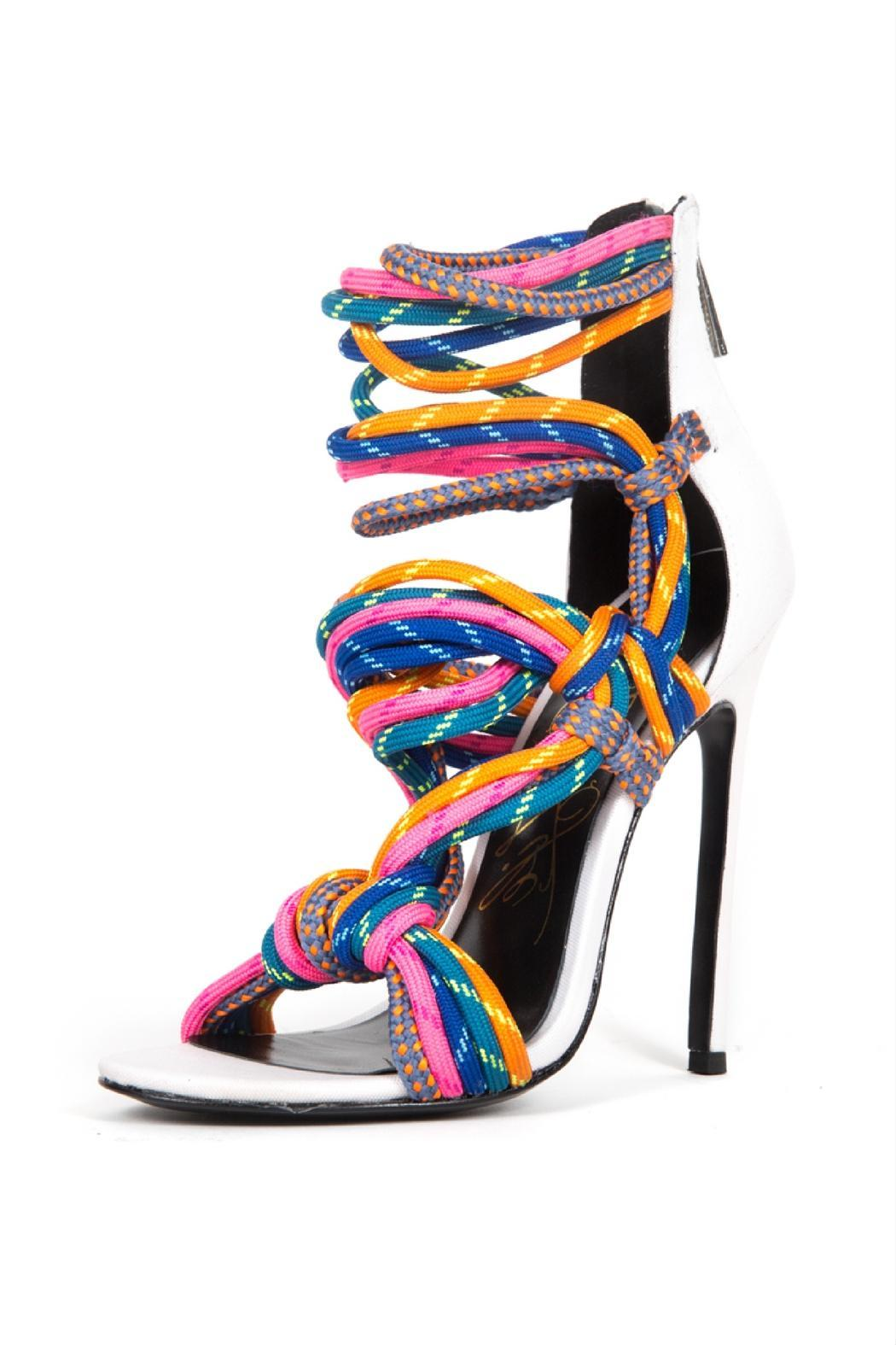 Lust For Life Usa Multi Colored Rope Heels From Alabama By