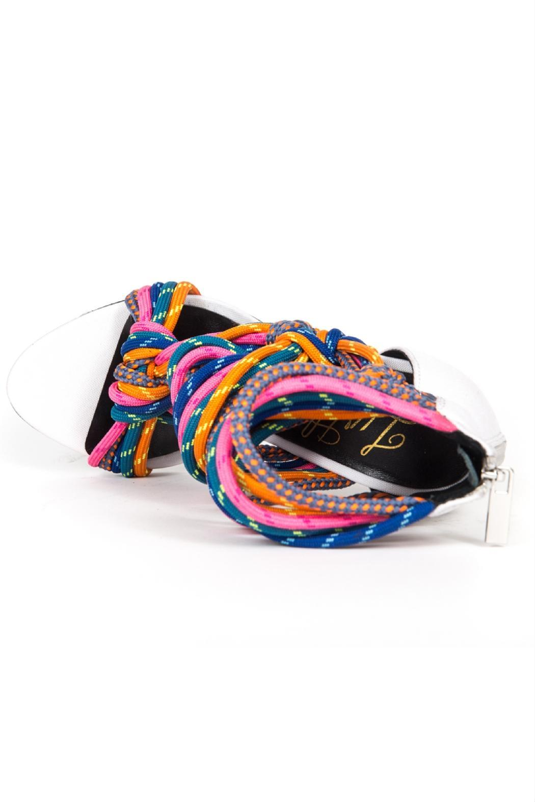 5b2bba1070 Lust For Life USA Multi-Colored Rope Heels from Michigan by Lifted ...