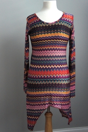 LUV 2 LUV Colorful Aztec-Print Tunic - Product Mini Image
