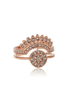 LUV AJ Cosmic Flare Ring - Product List Image