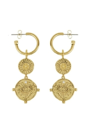 LUV AJ Double Coin Hoops - Product Mini Image