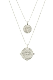LUV AJ Double Coin Necklaces - Product Mini Image