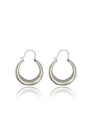 LUV AJ Martina Tube Hoops - Front cropped