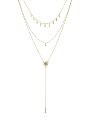 LUV AJ Sunburst Lariat Choker - Product Mini Image