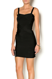 Lux Boutique Barcelona Bandage Dress - Front cropped