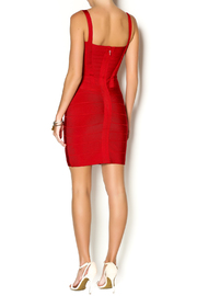Lux Boutique Barcelona Bandage Dress - Side cropped