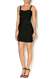 Lux Boutique Barcelona Bandage Dress - Front full body