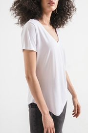 z supply Lux Deep-V Tee - Front full body