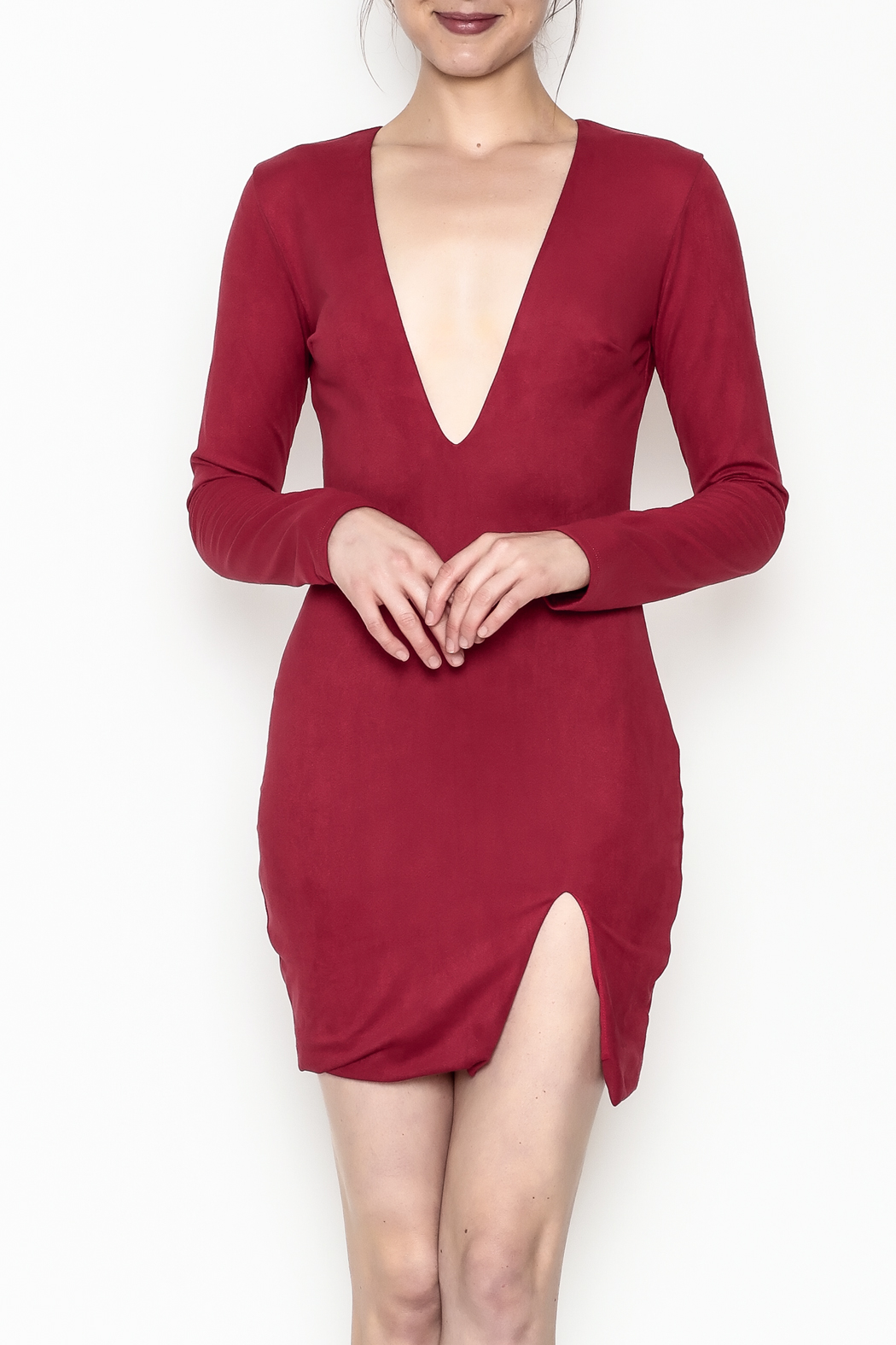Lux LA Kylie Dress - Front Cropped Image