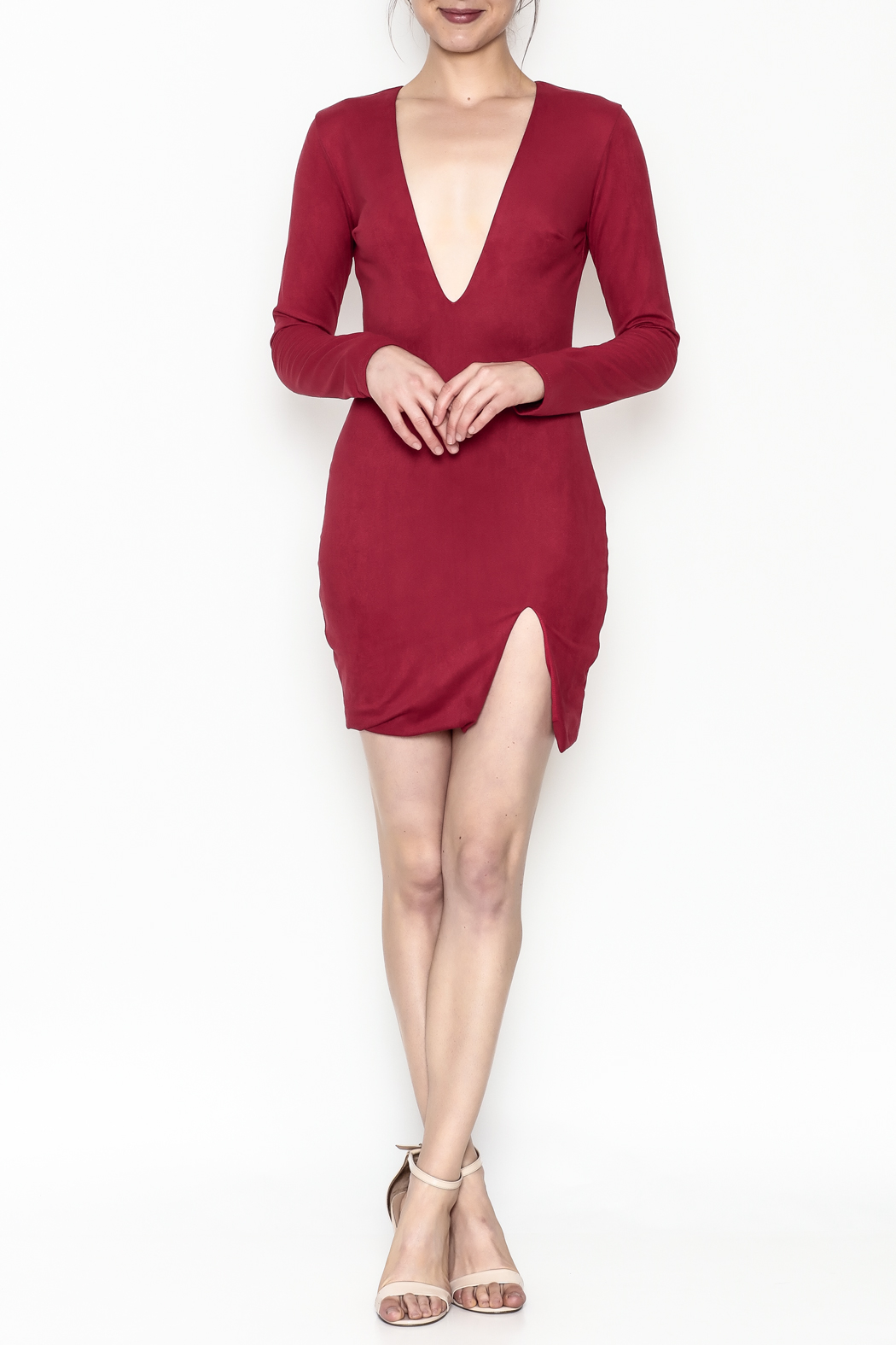 Lux LA Kylie Dress - Side Cropped Image