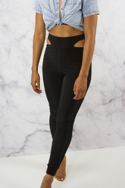 Lux Slinky Highwaisted Leggings - Side cropped