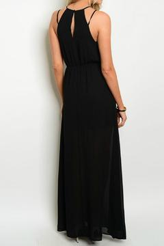 Lux Boutique Embellished Halter Maxi - Alternate List Image