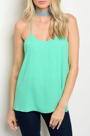 Lux Boutique Jade Cami Top - Product Mini Image