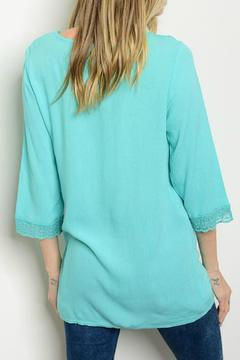 Lux Boutique Jade Guazy Lace Top - Alternate List Image