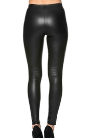 Lux Boutique Kat Leather Leggings - Front full body