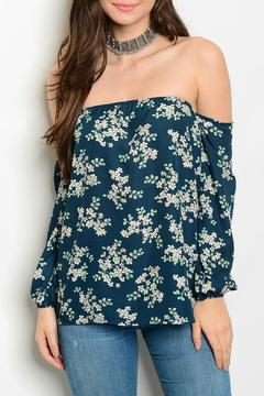 Lux Boutique Floral Print Top - Product List Image