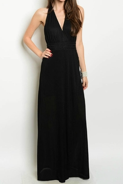 Lux Boutique Shiloh Deep Plunge Gown - Product List Image